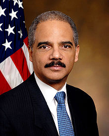 Attorney General Eric Holder. Attribution: Wikipedia