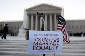 It's time for marriage equality. Attribution: JEWEL SAMAD/AFP/Getty Images