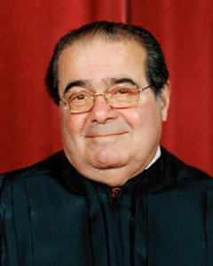Associate Justice Antonin Scalia. Attribution: Wikipedia