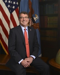 Defense Secretary Ashton Carter. Attribution: defense.gov