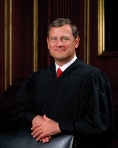 Chief Justice John Roberts. Attribution: Wikipedia