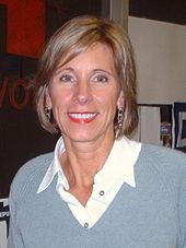 Education Secretary Betsy DeVos. Attribution: Wikipedia